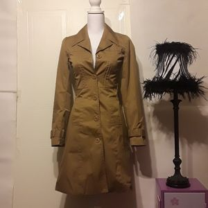 Divided Trench Coat